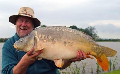 Des Taylor carp fishing